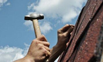 Pavasarinis remontas: kaip prižiūrėti namo stogą?