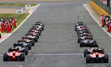 F-1 lenktynės Silverstono trasoje