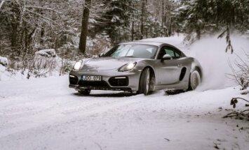Porsche vairavimo akademijos žiemos mokymai