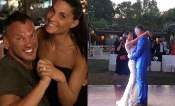 Paviešinti Š. Jasikevičiaus vestuvių Graikijoje kadrai