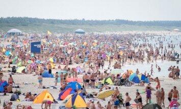 Tualetų paplūdimiuose nebus