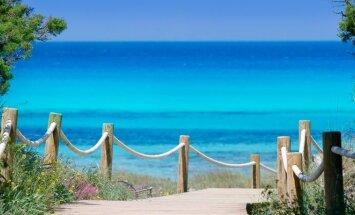 Vienas iš Balearų salyno paplūdimių Ispanijoje