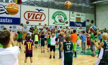 Atvirų durų diena A. Sabonio krepšinio mokykloje