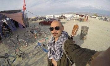 Jurgis Didžiulis festivalyje Burning Man