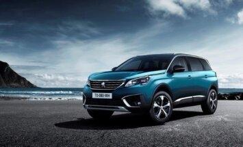 Naujos kartos Peugeot 5008