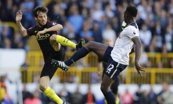 Davidas Silva (Man City) ir Victoras Wanyama (Tottenham)
