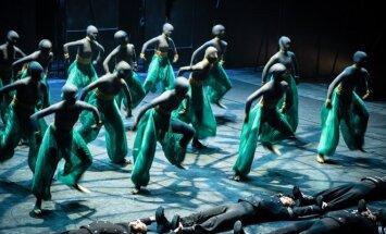 Anželikos Cholinos šokio spektaklis Otelas