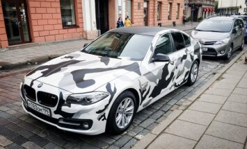 Margaspalvis BMW