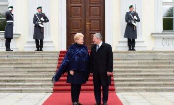 J. Gauckas, D. Grybauskaitė