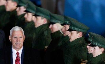 Mike'as Pence'as Vokietijoje