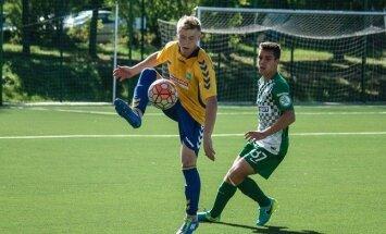 Jaunieji futbolininkai