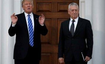 Jamesas Mattisas ir Donaldas Trumpas