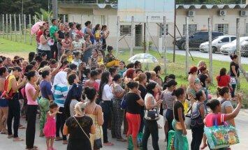 Manauso kalėjimo kalinių artimieji