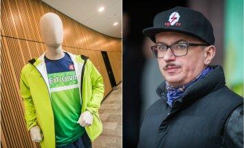 Dizaineriui A. Pogrebnojui neįtiko naujos olimpiečių aprangos