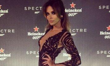 Natalia Siwiec na premierze Spectre w Las Vegas