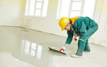 Nelygus grindų pagrindas? Išlyginkite jį