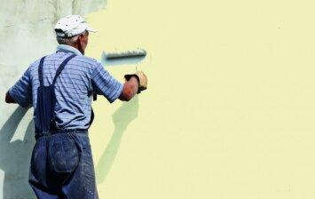 Namo fasado dažymas: svarbiausi etapai