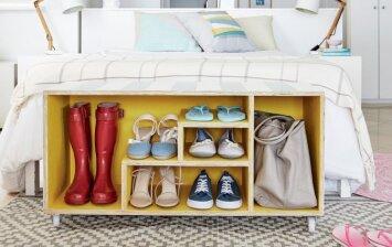 """<span style=""""color: #ff0000;"""">Darau pats:</span> praktiška batų laikymo idėja"""