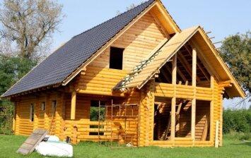 Rąstiniai namai – ar dar verta juos statyti?