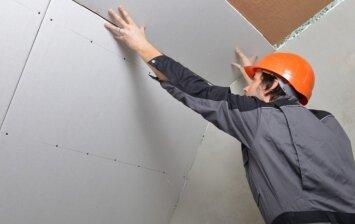 Kūrybiški gipskartonio panaudojimo būdai: nuo nišų iki lenktų lubų