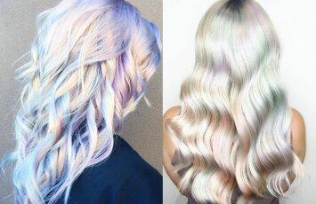 Fantastiško grožio tendencija - holografiniai plaukai