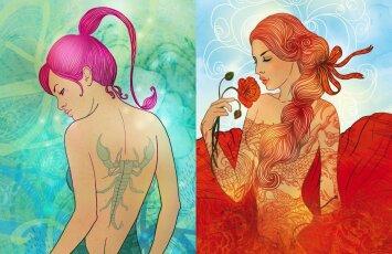 Merginų grožis pagal Zodiako ženklus - kurios dailiausios?