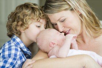 Psichologė pataria, kaip paruošti vaiką brolio ar sesės gimimui