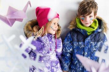 Patarimai, kaip vaikui išrinkti geriausią lauko aprangą žiemai