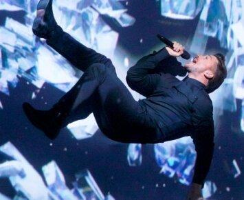 Nuogo Rusijos atstovo Eurovizijoje nuotrauka internete kelia aistras