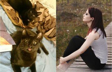 Geriausius savo draugus surado prieglaudoje: Šarūnė paneigė mitą apie laukines kates