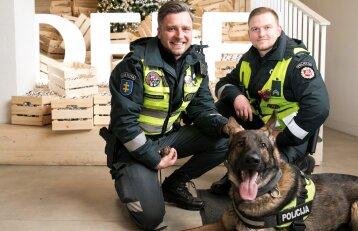 Nufilmuoti išskirtiniai policijos šuns sugebėjimai: štai taip jis sulaiko nusikaltėlį