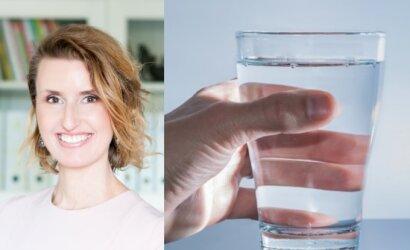 Dietistė Vaida Kurpienė – apie tai, kiek, kaip ir kokį vandenį reikėtų gerti: paprastas būdas, kaip pasitikrinti, ar geriate pakankamai