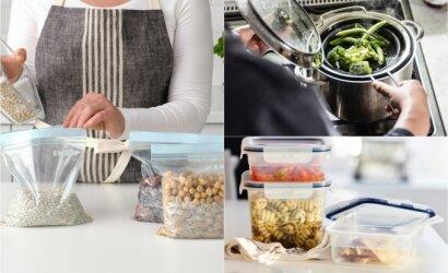 Virtuvės sprendimai iki 10 eurų: kaina minimali, o pokytis – didžiulis