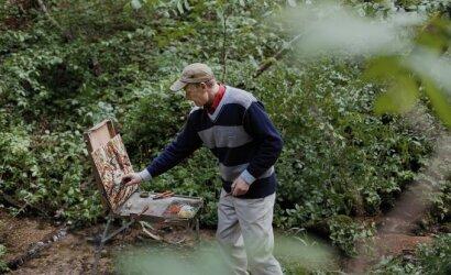 Statybose nugarą lenkiantis Albertas turi vieną svajonę – tapyti