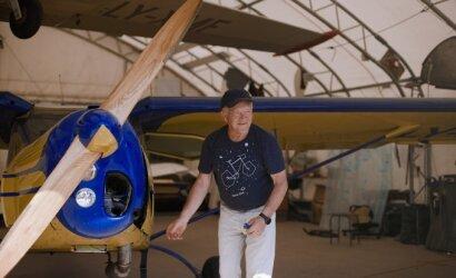 Rami pensija – ne Rolandui: užuot ilsėjęsis, konstruoja lėktuvus ir bando juos ore