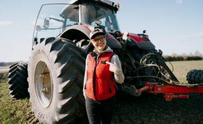 Čia gimiau, čia ir numirsiu: trisdešimtmetė ūkininkė Rasa griauna stereotipus apie Lietuvos kaimą