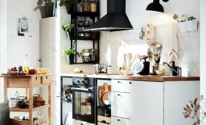 Planuojate įsirengti virtuvę, bet nežinote, nuo ko pradėti? Nereikės kelti kojos iš namų