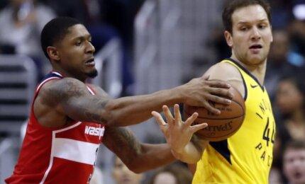 """Be Sabonio ir Turnerio į kovą stoję """"Pacers"""" Vašingtone pralaimėjo itin svarbias rungtynes"""