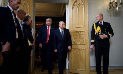 D. Trumpo ir V. Putino susitikimas Helsinkyje