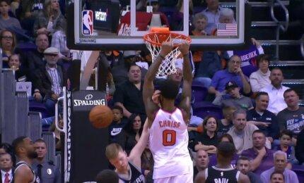 """NBA TOP-10: """"Clippers"""" pergalę išplėšė pataikiusi du tritaškius mačo pabaigoje"""