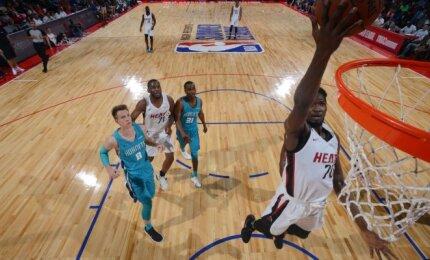 """Kulboka ir """"Hornets"""" NBA Vasaros lygos favoritų statusą patvirtino įveikdami """"Heat"""""""
