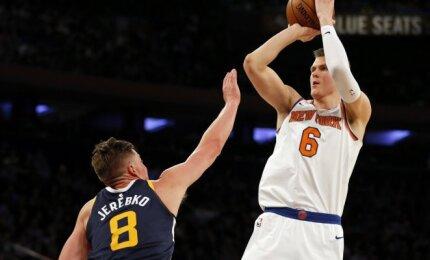 """Tiesioginiame DELFI TV eteryje – Porzingio šansas grąžinti """"Knicks"""" į pergalių kelią"""