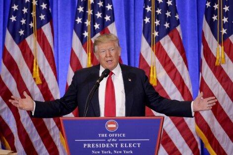 Skandalinga D. Trumpo dosjė: būtų smagu, jei nebūtų taip panašu į tiesą