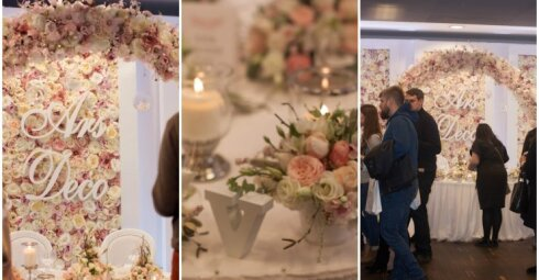 Floristės I. Borkovskos įspūdžiai iš vestuvių parodos Lenkijoje: ar ten tikrai viskas pigiau?