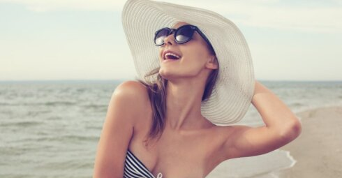 Konkursas: vasarą džiaukitės aksomine oda!