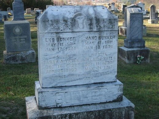 Changas ir Engas Bunkeriai mirė tą pačią dieną