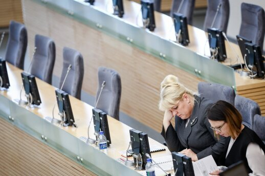 Algimanta Pabedinskienė ir Eglė Radišauskienė
