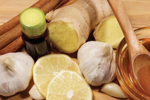 Česnakas, imbieras, citrina