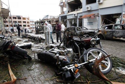 Dviejų automobilių sprogimas Reyhanli (Turkija) netoli pasienio su Sirija