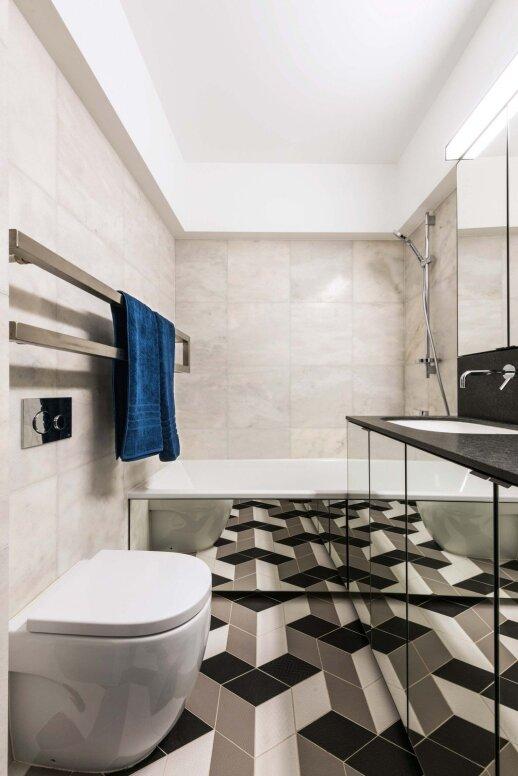 60 kv.m butas Vilniuje: pavyzdys, kai dizaineriui suteikiama absoliuti kūrybinė laisvė